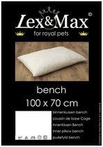 Lex & Max - Binnenkussen - Bench - 100x70cm