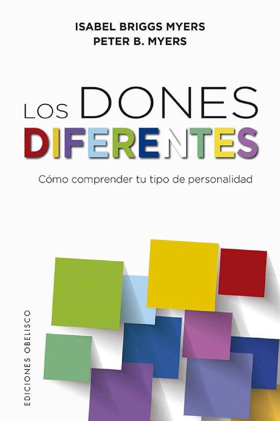 Boek cover Los dones diferentes van Isabel B. Myers (Onbekend)
