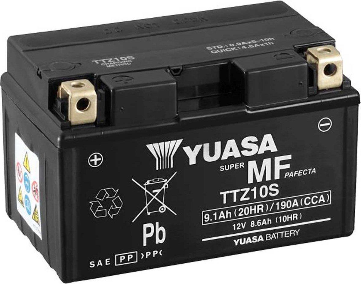 Yuasa Ttz10S Accu 12V 8,6Ah 150X87X93X93