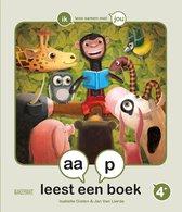 Samenleesboek voor kleuters 0 -   aap leest een boek