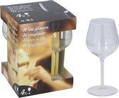 4x Witte of rode wijnglazen 38 cl/380 ml - Wittewijnglazen/rodewijnglazen - Wijn drinken - Wijnglazen van glas