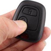 LOUZIR Autosleutelbehuizing - sleutelbehuizing auto - sleutelhoes - Autosleutel -Geschikt voor  Peugeot, Citroën en Toyota