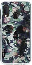 Samsung Galaxy A20e hoesje Army Skull Casetastic Smartphone Hoesje softcover case