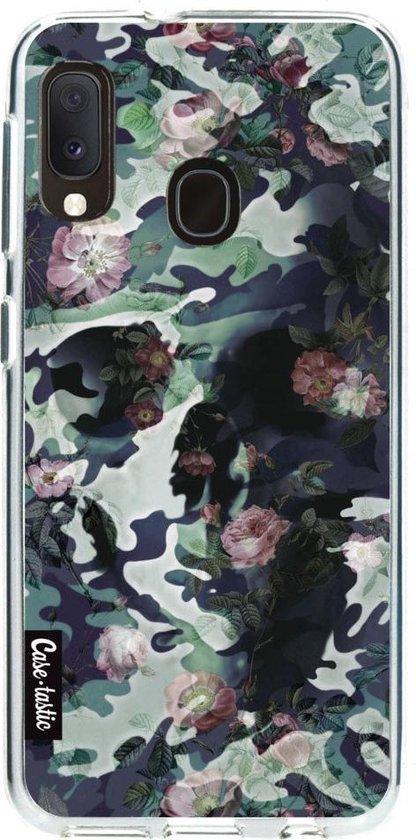 Samsung Galaxy A20e hoesje Army Skull Casetastic Smartphone Hoesje softcover case