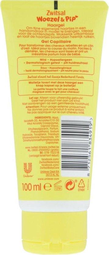 Zwitsal Goedemorgen Baby Haargel - 6 x 100 ml - Voordeelverpakking