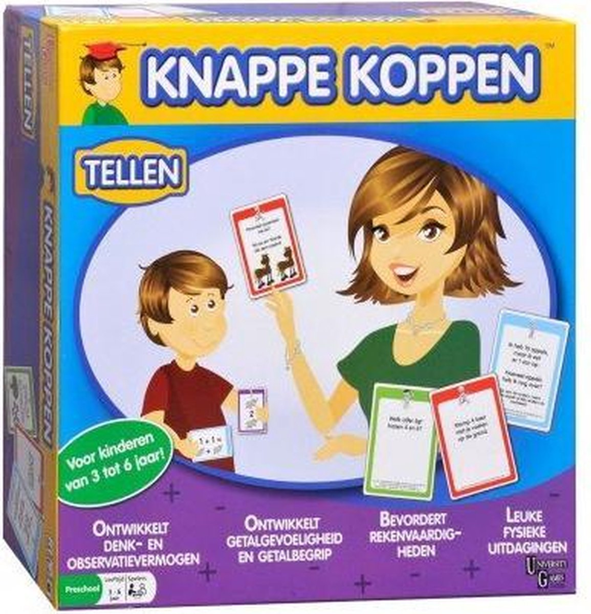 Knappe Koppen - Tellen