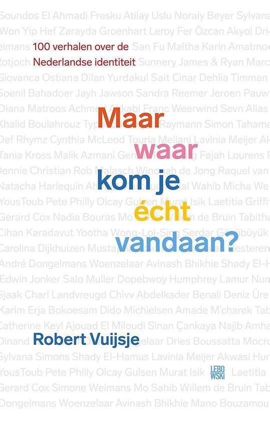 Boek cover Maar waar kom je écht vandaan? van Robert Vuijsje (Paperback)