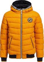 WE Fashion Jongens reversible jacket met capuchon - Maat 146/152