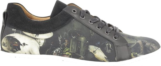 Brave sneaker Bosch by Night zwart