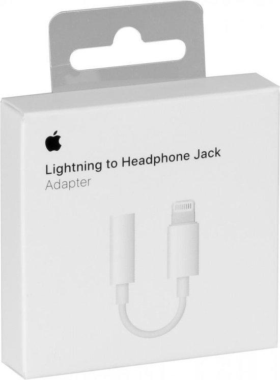 Apple Lightning naar 3.5mm jack adapter - MMX62ZM/A