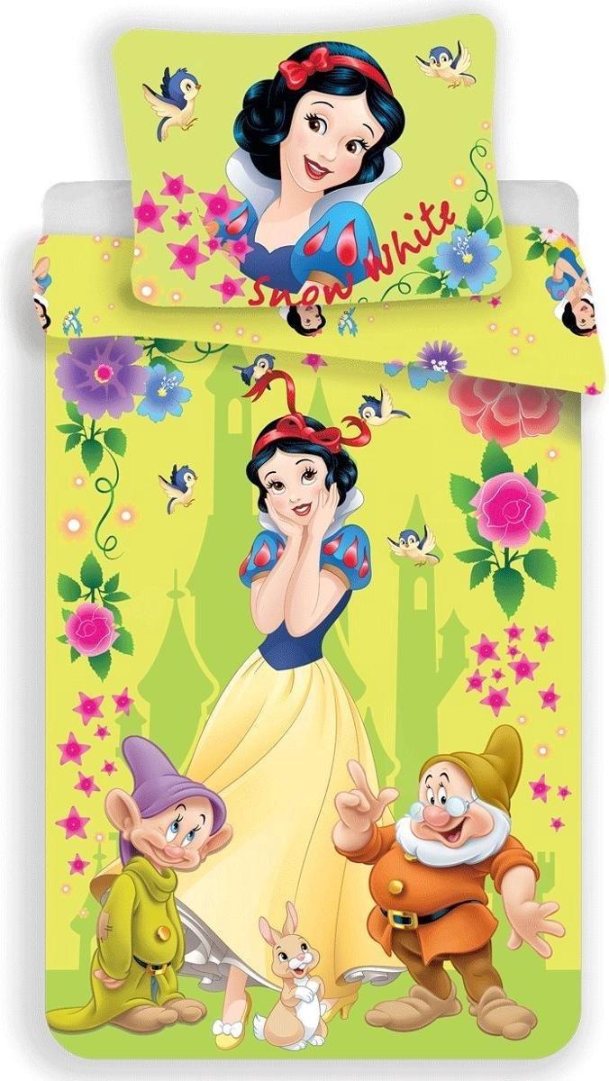 Dekbedovertrek- Disney Sneeuwwitje- Eenpersoons- 140x200 cm - Multi kopen