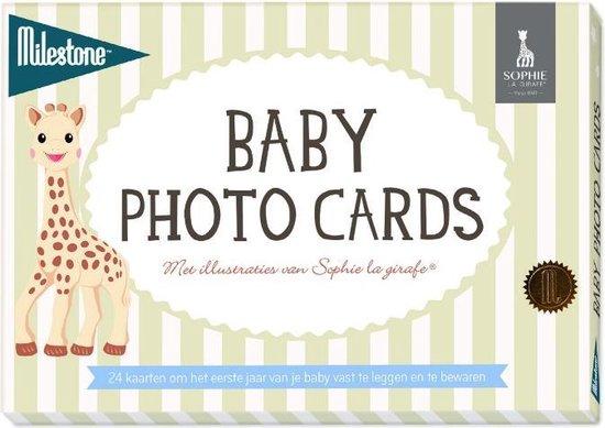 Afbeelding van Milestone Baby Mijlpaalkaart - Sophie la Girafe