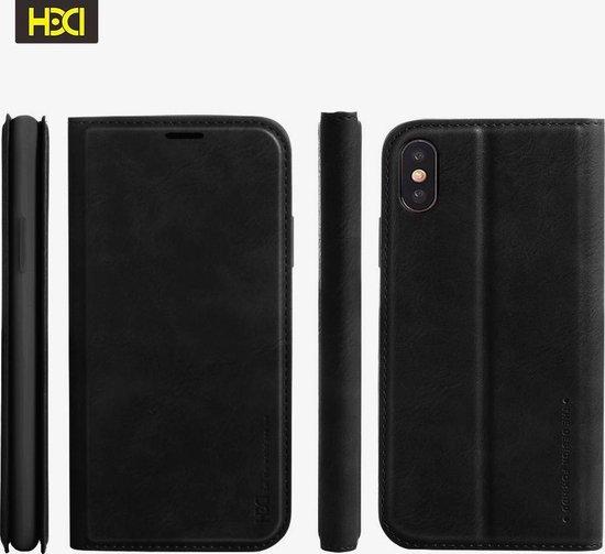 HDD Luxe business boekhoesje zwart geschikt voor Apple iPhone 7