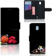 Nokia 1 Plus Wallet Case met Pasjes Sports