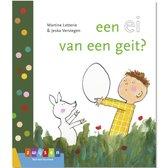Boek cover Leren lezen AVI start  -   een ei van een geit? van Martine Letterie (Hardcover)