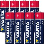 Varta Longlife Max Power AA Batterijen - 8 stuks