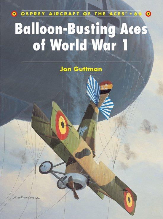 Boek cover Balloon-Busting Aces of World War 1 van Jon Guttman (Onbekend)
