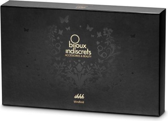 Bijoux Indiscrets Shhh Blinddoek - Zwart