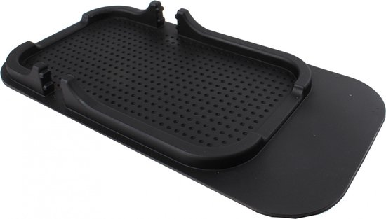 Dunlop Anitslipmat En Telefoonhouder Voor Iphone 18 Cm Zwart