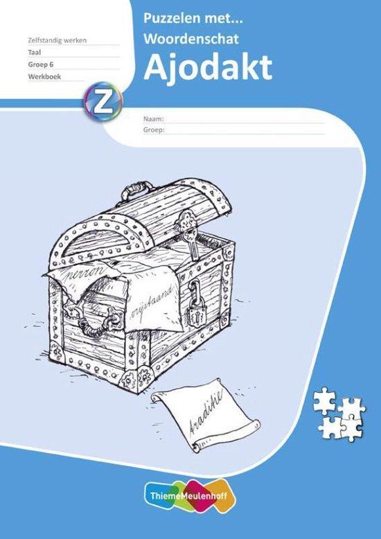 Ajodakt Taal, 5 ex Groep 6 Puzzelen met woordenschat Werkboek - Eva den Boogert |