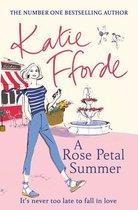 Boek cover A Rose Petal Summer van Katie Fforde