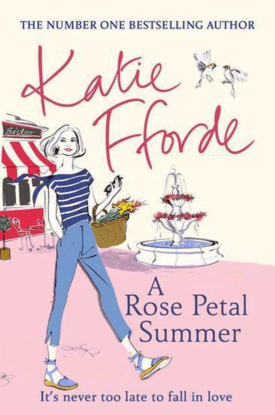 Omslag van A Rose Petal Summer