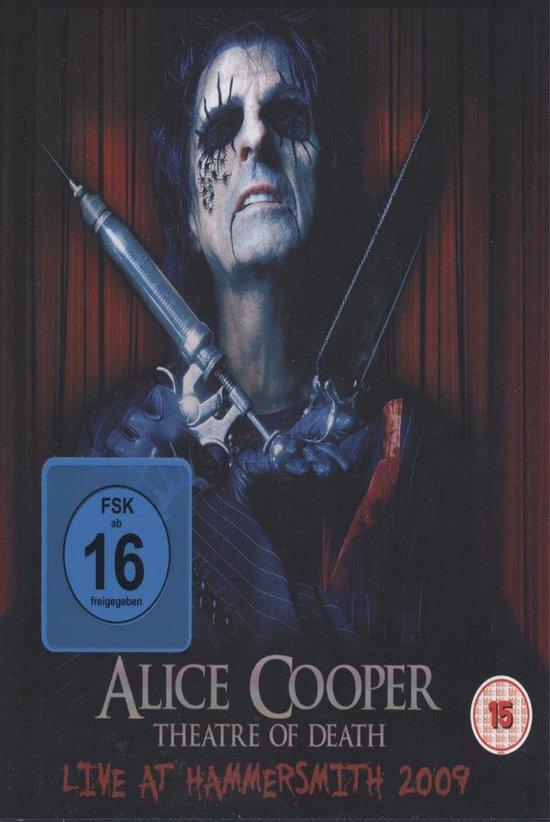 Cover van de film 'Alice Cooper - Theatre Of Death'