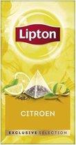 Lipton - Exclusive selection thee citroen - 25 Pyramide zakjes