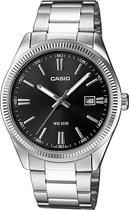 Casio MTP-1302D-1A1VEF - Horloge - 38.5 mm - Staal - Zilverkleurig