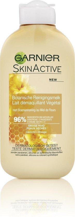 Garnier Skinactive Face gezichtsreiniging en reinigingsmelk - Honing - 200 ml