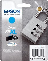 Epson Padlock Singlepack Cyan 35XL DURABrite Ultra Ink