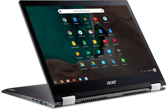 Acer Chromebook Spin 13 CP713-1WN-33TB Grijs 34,3 cm (13.5'') 2256 x 1504 Pixels Touchscreen Intel® 8de generatie Core™ i3 8 GB LPDDR4-SDRAM 32 GB eMMC Wi-Fi 5 (802.11ac) Chrome OS