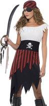 Piraten kostuum voor vrouwen | maat XL ( 48 - 50 )