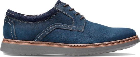 Clarks Heren Un Geo Lace - H030403 - blauw - maat 6,5
