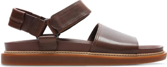 Clarks - Herenschoenen - Trace Bay - G - mahogany leather - maat 7,5