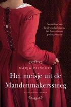 Boek cover Het meisje uit de Mandenmakerssteeg van Marja Visscher (Onbekend)