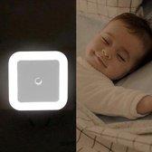 LED Nachtlampje met sensor - veiligheid - baby - kinder - Nachtlamp - INCLUSIEF stopcontact beveiliging - Nachtlicht - Kinderkamer - Slaapkamer - Woonkamer - Badkamer - Donker - Licht - Nacht - Nachtlampje babykamer - Kinderlampje - Lichtsensor