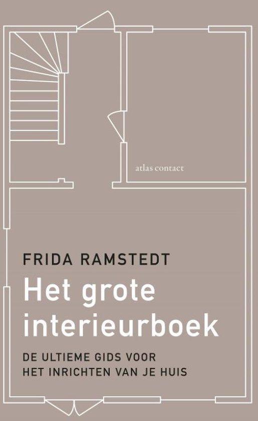 Boek cover Het grote interieurboek van Frida Ramstedt (Paperback)