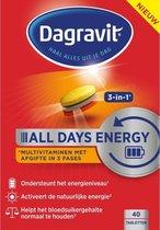 Dagravit All Days Energy 3in1 - Multivitamine - 40 tabletten