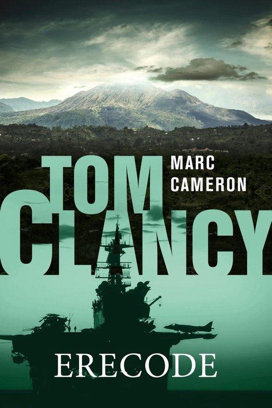 Boek cover Tom Clancy Erecode van Marc Cameron (Onbekend)