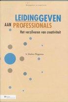 Management & Organisatie  -   Leidinggeven aan professionals