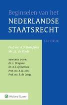 Boek cover Beginselen van het Nederlands staatsrecht van A.D. Belinfante (Hardcover)