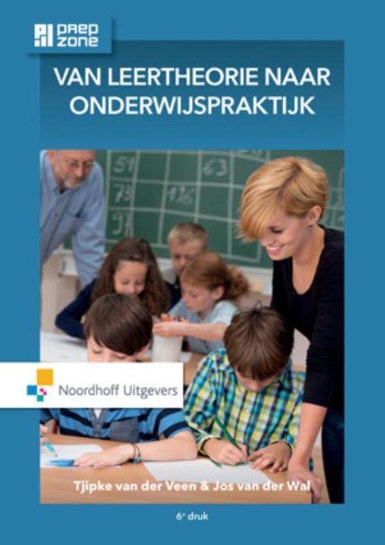Boek cover Van leertheorie naar onderwijspraktijk incl. toegang tot Prepzone van Tjipke van der Veen (Paperback)