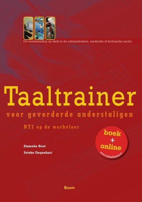 Boek cover Taaltrainer voor gevorderde anderstaligen van Emmeke Boot (Paperback)