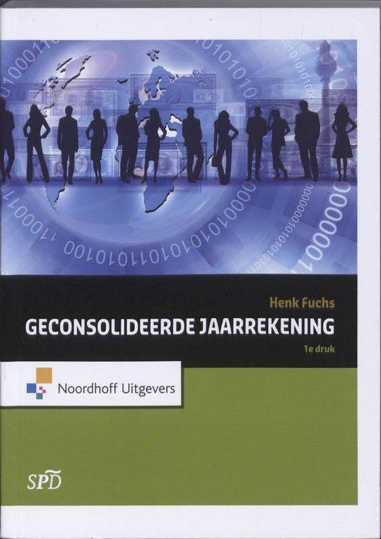 Boek cover Geconsolideerde Jaarrekening van Henk Fuchs (Paperback)