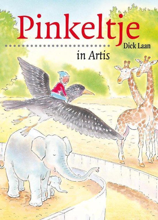 Boek cover Pinkeltje 4 -   Pinkeltje in Artis van Suzanne Braam (Paperback)