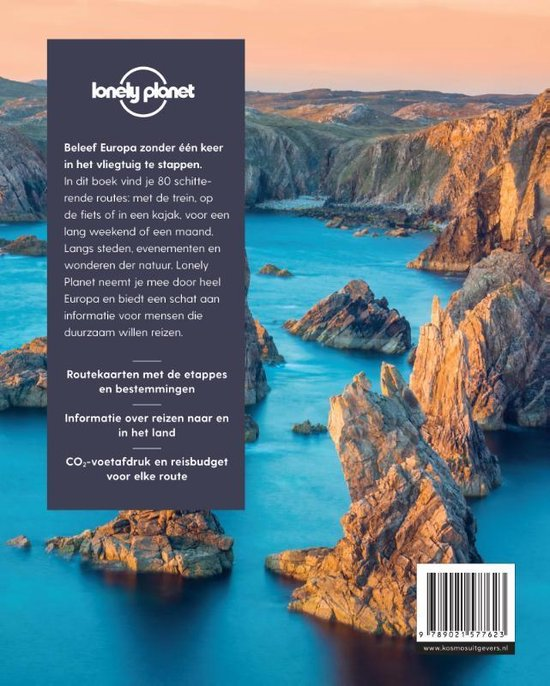 Lonely planet  -   80 Duurzame reizen