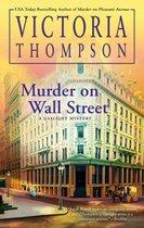 Omslag Murder on Wall Street
