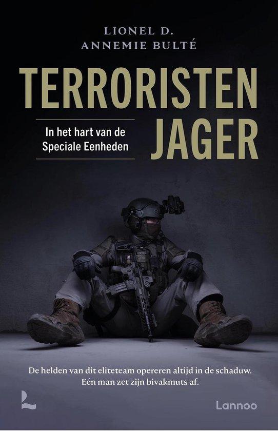 Boek cover Terroristenjager van Lionel D. (Paperback)