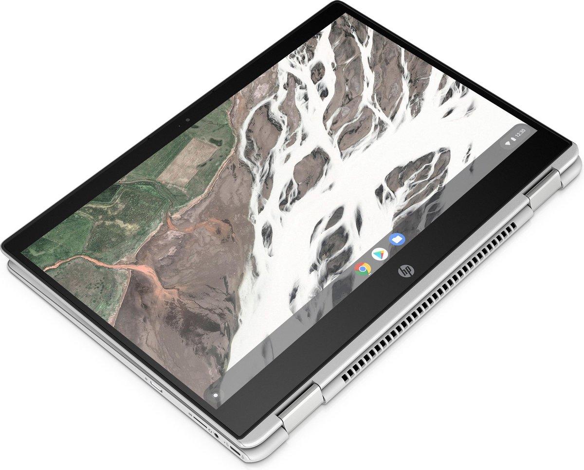 "HP Chromebook x360 14 G1 Zilver 35,6 cm (14"") 1920 x 1080 Pixels Touchscreen Intel® 8de generatie Core™ i5 8 GB DDR4-SDRAM 64 GB eMMC Wi-Fi 5 (802.11ac) Chrome OS"